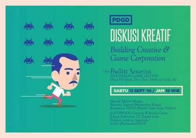 Diskusi Kreatif Dengan Master Game Indonesia